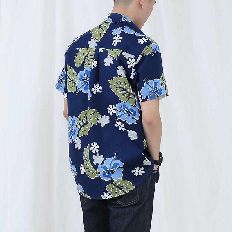 Blue floral for Blue print maker